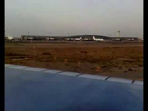 Boeing 747SP takeoff from Tehran New Airport