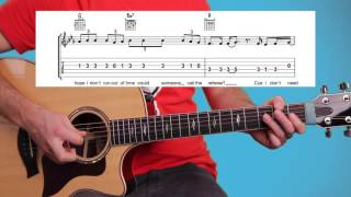 ► Sorry - Justin Bieber - Guitar Lesson (Guitar Tutorial) Easy Chords & Melody + FREE TAB Download