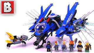 LEGO Ninjago Movie Jay's Lightning Jet 70614! | Unbox Build Time Lapse Review