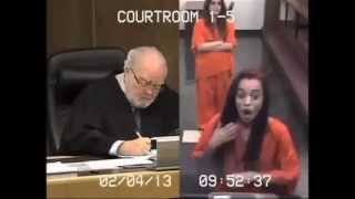Judge Blushed When This Girl.....