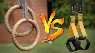 TRX vs Gymnastic Rings - Which is Better?