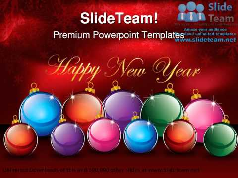 new year decoration events powerpoint templates themes and backgrounds ppt themes