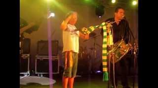 Conjunto Rock Moreira e Amanda Maria. Festival de Inverno - Pedro II - 2013.