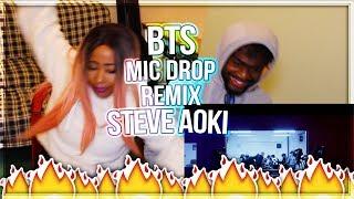 BTS (방탄소년단) 'MIC Drop (Steve Aoki Remix)'  & Desiigner?? Official Teaser REACTION!