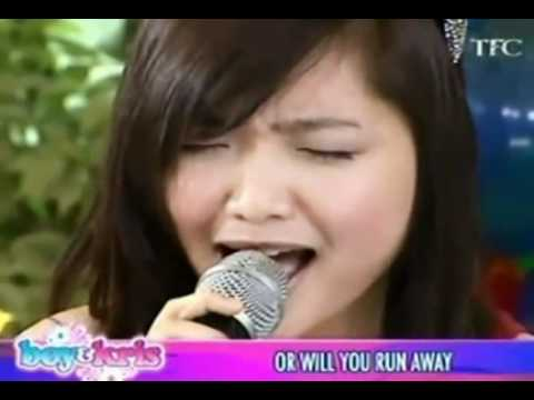 Charice -  Run To You - LIVE (HQ version)