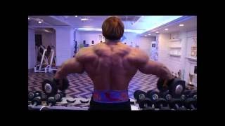Chul soon shoulder work out