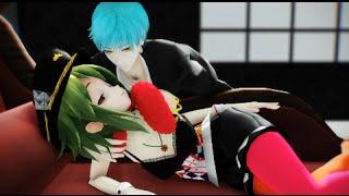 【刀剣乱舞·Vocaloid MMD】GUMI*結月ゆかり↔一期*鶴丸【KILLER LADY】