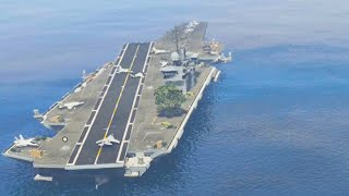ULTIMATE AIRCRAFT CARRIER TOUR! (GTA 5 Funny Moments)