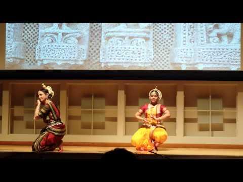 Odissi Performance - Ipsitaa Panigrahi and Durga Bor at Cornell's Indian festival