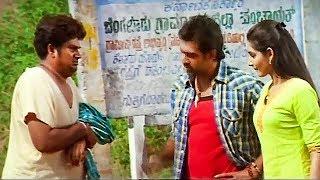Rangayana Raghu Tries To Hide From Chiranjeevi Sarja