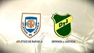 Fútbol en vivo. Rafaela vs. Defensa y Justicia. Fecha 12. Torneo de Primera División 2016/2017. FPT