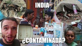 REPORTAJE en India SOBRE LA CONTAMINACION EN VARANASI