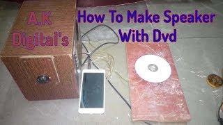 How to make speaker using CDs flat *