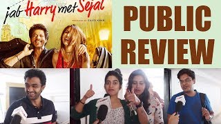 Jab Harry Met Sejal Public Review | Shahrukh Khan | Anushka Sharma | Movie Review | FilmiBeat