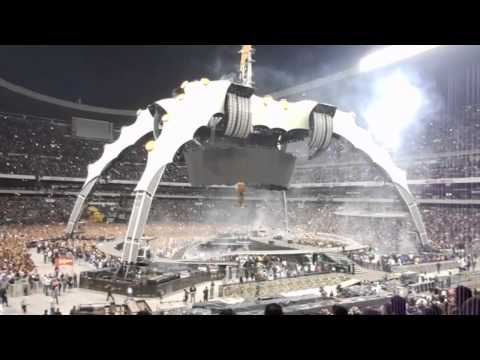 U2 360° TOUR 2011 MEXICO - # 1 Space Oddity & Even Better Than The Real Thing - Multicam .mp4