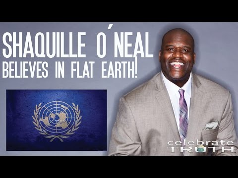 Shaquille O Neal Believes The Earth is Flat 🏀 NBA Goes Flat Earth