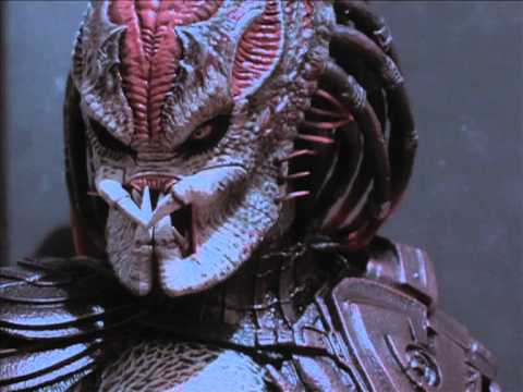 Predator Vs Terminator Stop motion
