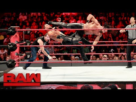 Xxx Mp4 Dean Ambrose Seth Rollins Vs The Miz The Miztourage Handicap Match Raw July 24 2017 3gp Sex