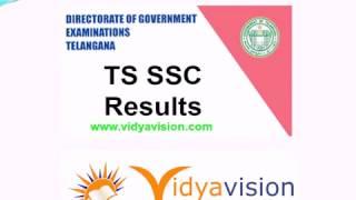TS SSC Results 2017-Telangana SSC Results 2017 @ Vidyavision