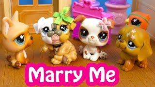 LPS Marry Me Mommies Part 54 Littlest Pet Shop Series Video Movie LPS Mom Babies Cookieswirlc