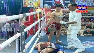 Kun Khmer, Sen Radeth Vs Thai, Petchnakalang, SEATV boxing, 22 Jan 2017, K.O