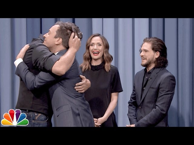 Charades with Kit Harington, Rose Byrne and Blake Shelton