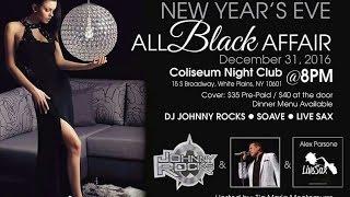 Tia Maria Presents New Year's Eve All Black Affair