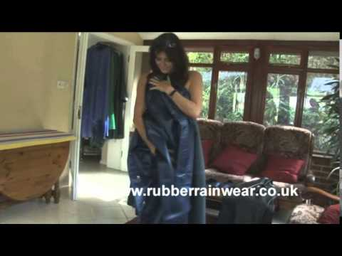 Rubber Rainwear Trailer