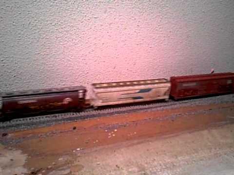 Old HO Tyco Locomotive Still Running!