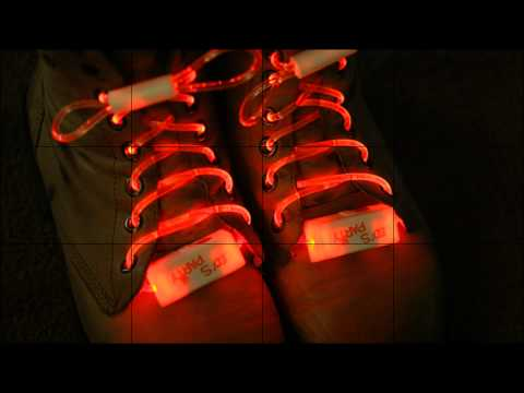 Xxx Mp4 Flashing Glowing LED Shoelaces Red Pair China Electronics 3gp Sex