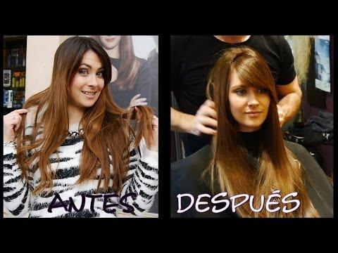 Mi nuevo pelo (color, corte, cuidados...) antes y después. My new hair cut+color.