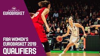 Belgium v Switzerland - Full Game - FIBA Women's EuroBasket 2019 Qualifiers