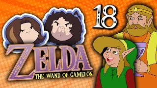 Zelda The Wand of Gamelon: Flame Throwin' Wizard - PART 18 - Game Grumps