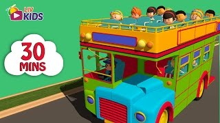 Wheels on the bus, Ba Ba Black Sheep and many more | English Nursery Rhymes 30 mins Compilation