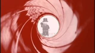 From Russia With Love Gunbarrel in LEGO