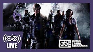 [Live] Resident Evil 6: Campanha Leon (PS4) - Até Zerar AO VIVO