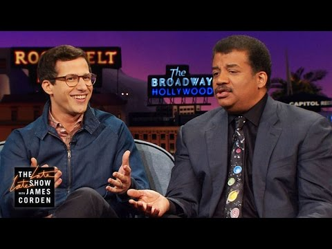 Andy Samberg s Three Questions for Neil deGrasse Tyson