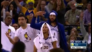 Warriors vs Wizards FULL Highlights - Draymond Green & Bradley Beal Fight