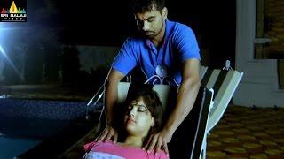 Badmash Pottey Scenes | Farukh Doing Body Massage to Asna Khan | Gullu Dada | Sri Balaji Video
