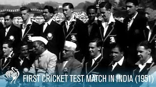 First Test Match In India (1951)