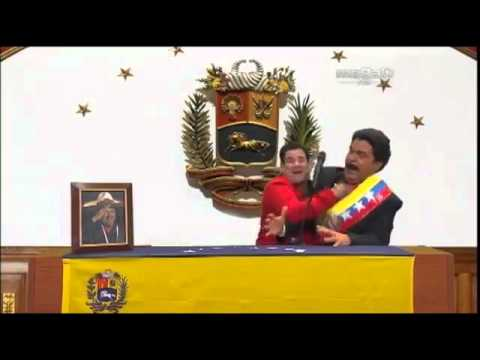 Burla de la cadena de Nicolas Maduro conocido mejor como Maburro