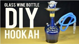 Homemade Hookah/sheesha from a Glass Liquor Bottle