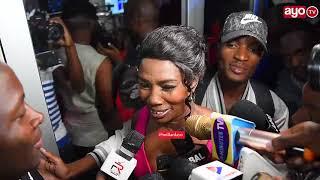 """Mama yake Diamond uzinduzi wa Movie ya Wema """"Nimempa Wema zawadi, Diamond hajanituma"""""""