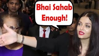 Aishwarya Rai Bachchan ANGRY On Media Photographers For Blocking Her Way and Clicking Pictures