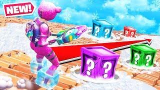 FROZEN LUCKY BLOCKS *NEW* Game Mode in Fortnite Battle Royale