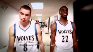 Andrew Wiggins and Zach Lavine 2016 Mix- Bounce Bros