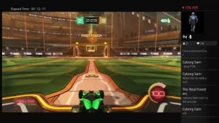 Rocket league,come join me,trying to freestyle