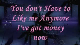 PINK - I got money now (Lyrics)