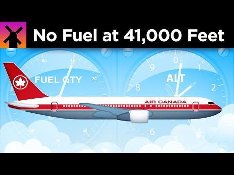An Airplane Ran Out of Fuel at 41 000 Feet. Here s What Happened Next