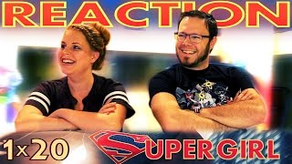 Supergirl 1x20 FINALE REACTION!!